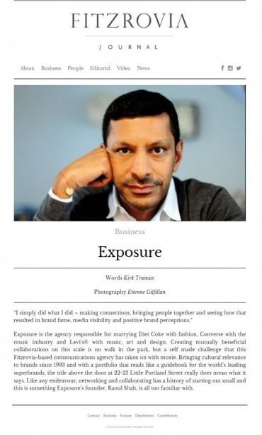 Exposure Article