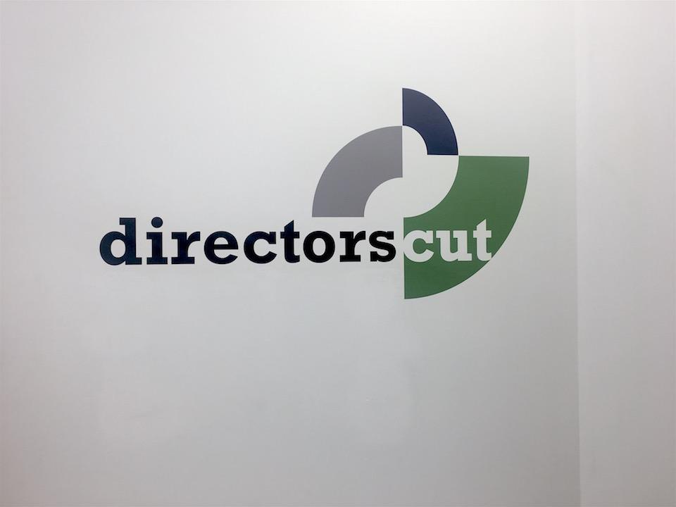 directors cut wall decal logo