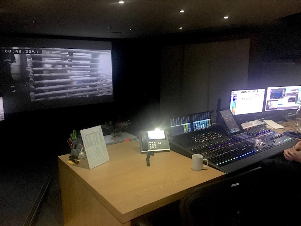 directors cut dubbing mixer room